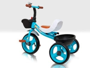 Blue Trike with Bell