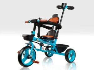 Blue Trike with Parent Handle